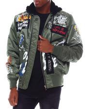 SMOKE RISE - Graffiti Hooded Jacket-2555660