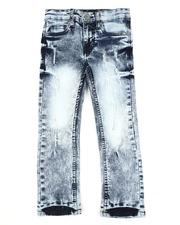 Sizes 4-7x - Kids - Washed 5 Pocket Stretch Jeans (4-7)-2553188