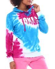 Hoodies - Tie Dye Hoodie W/ Print Toxic-2555754