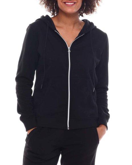 Fashion Lab - Full Zip Fleece Hoodie