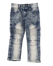 Bottoms - Moto Stretch Jeans (2T-4T)-2553205