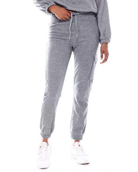 DEREK HEART - Fleece Jogger w/Cargo Pocket