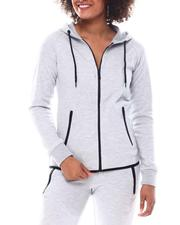 Fashion Lab - Full Zip Tech Hoodie-2555719