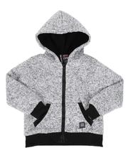 Sizes 4-7x - Kids - Sherpa Lined Zip Up Hoodie (4-7)-2551935