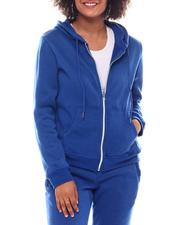 Fashion Lab - Full Zip Fleece Hoodie-2555782