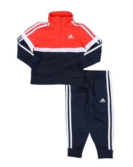 Adidas - 2 Pc Varsity Track Jacket & Pants Set (2T-4T)