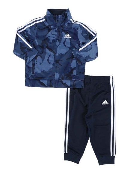 Adidas - 2 Pc Camo Tricot Jacket & Pants Set (Infant)