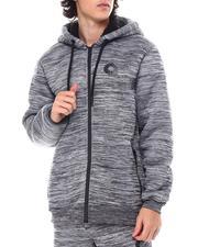 Outerwear - Bonded Sherpa Full Zip Hoody-2554338