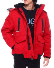 Outerwear - Igloo Insulated Hooded Jacket w Patch Pocket Detail-2555278