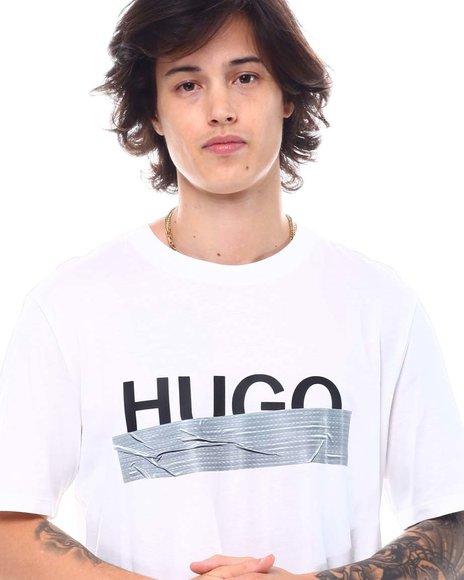 Hugo Boss - Dicagolino Metallic tape Tee