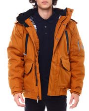 Outerwear - Igloo Insulated Hooded Jacket w Patch Pocket Detail-2555190