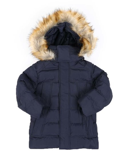 Arcade Styles - Heavy Weight Hooded Parka Jacket (4-7)