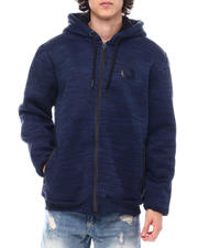 Outerwear - Bonded Sherpa Full Zip Hoody-2554348