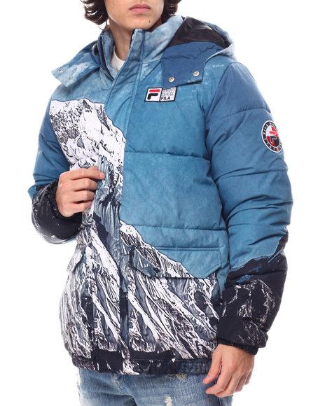 Fila - White Rock Blanc Alps Puffa Jacket