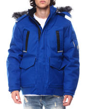 Outerwear - Igloo Insulated Hooded Jacket w Patch Pocket Detail-2555266