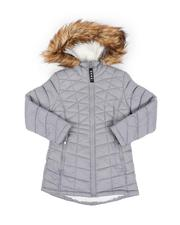 Girls - Sherpa Lined Faux Fur Hood Anorak (7-16)-2552558