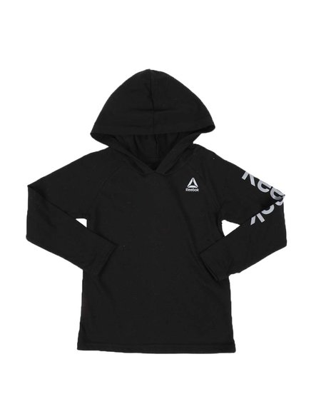 Reebok - Pullover Athletic Jersey Hooded T-Shirt (4-7)