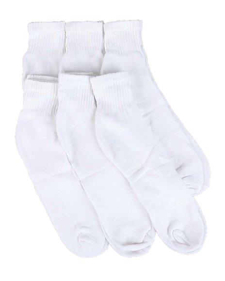 Buyers Picks - 6pk Everlast King Quarter Cut Socks (B&T)