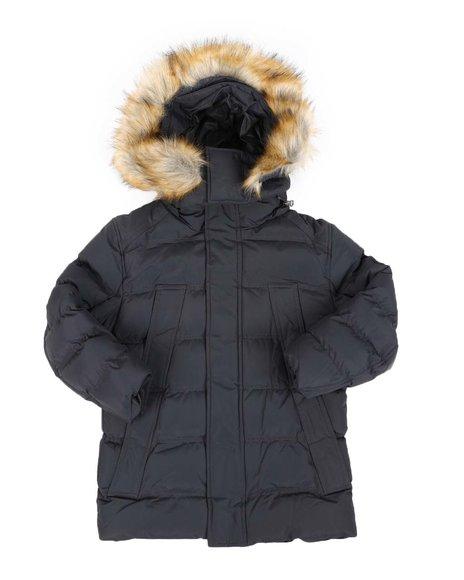 Arcade Styles - Heavy Weight Hooded Parka Jacket (8-20)