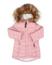 Girls - Sherpa Lined Faux Fur Hood Anorak (2T-4T)-2554970