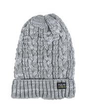 Fashion Lab - Thermal Insulated Marled Knit Beanie-2556080