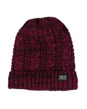 Fashion Lab - Thermal Insulated Marled Knit Beanie-2556081