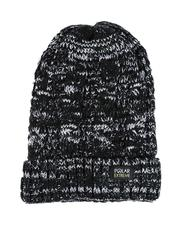 Fashion Lab - Thermal Insulated Marled Knit Beanie-2556102