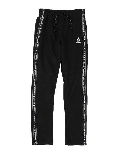 Reebok - Double Knit Track Pants W/ Jacquard Taping (8-20)