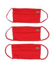 Lacoste - 3Pk Logo Face Masks (Unisex)-2555918
