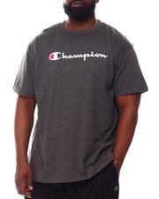 Champion - S/S Retro Champion Script Tee (B&T)-2557968