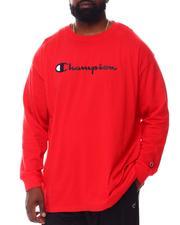 Champion - Retro Champion Script Long Sleeve T-Shirt (B&T)-2558004