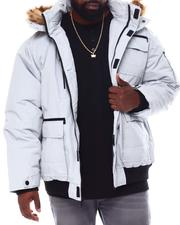 Rocawear - Hooded Parka Bomber Coat (B&T)-2558250