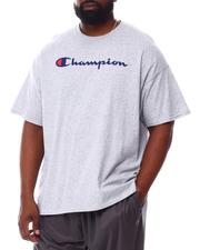 Champion - S/S Retro Champion Script Tee (B&T)-2558264