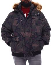 Rocawear - Hooded Parka Bomber Coat (B&T)-2558349