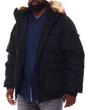 Rocawear - Hooded Parka Bomber Coat (B&T)-2558365