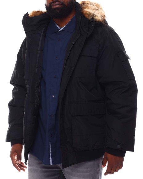 Rocawear - Hooded Parka Bomber Coat (B&T)