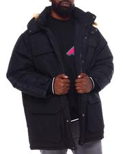 Rocawear - Faux Fur Hooded Parka Coat (B&T)-2558392