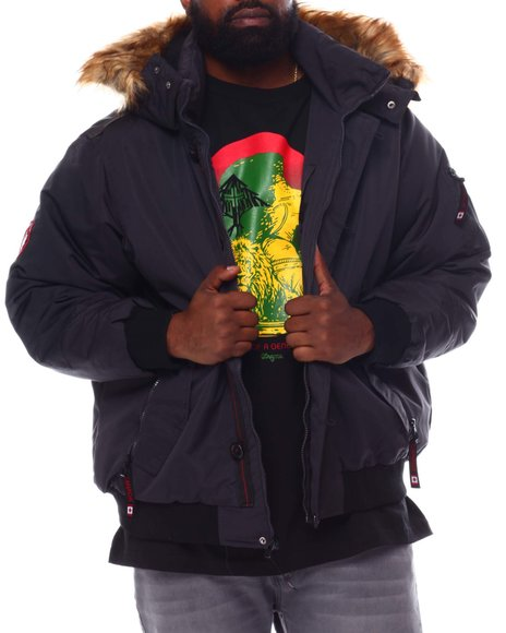 Buyers Picks - Hooded Parka Bomber Coat (B&T)