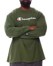 Champion - Retro Champion Script Long Sleeve T-Shirt (B&T)-2557957