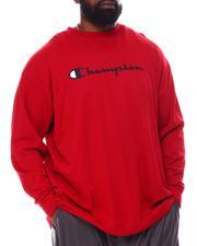 Champion - Retro Champion Script Long Sleeve T-Shirt (B&T)-2557994