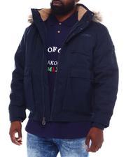 Outerwear - Varsity 8 Ball Nylon Puffer Coat (B&T)-2558210