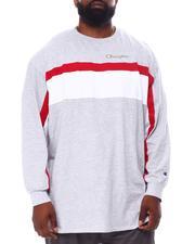 Champion - Color Block Long Sleeve T-Shirt (B&T)-2558287