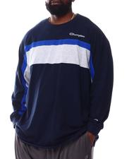 Champion - Color Block Long Sleeve T-Shirt (B&T)-2558306