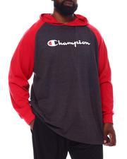 Champion - Rag HD Script Long Sleeve Hoodie (B&T)-2558382