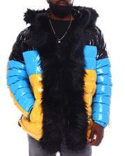 Outerwear - PU Coated Puffer Jacket (B&T)-2558610