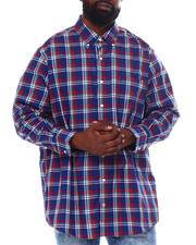 Nautica - Plaid Long Sleeve Woven Shirt (B&T)-2558707