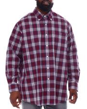 Nautica - Plaid Long Sleeve Woven Shirt (B&T)-2558724