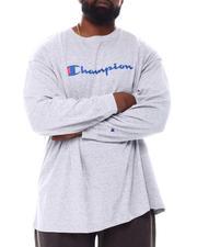 Champion - Retro Champion Script Long Sleeve T-Shirt (B&T)-2558021