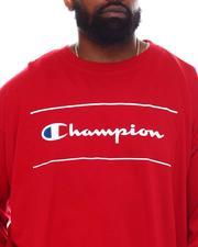 Champion - Script Long Sleeve T-Shirt (B&T)-2558324