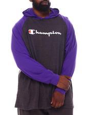 Men - Rag HD Script Long Sleeve Hoodie (B&T)-2558359